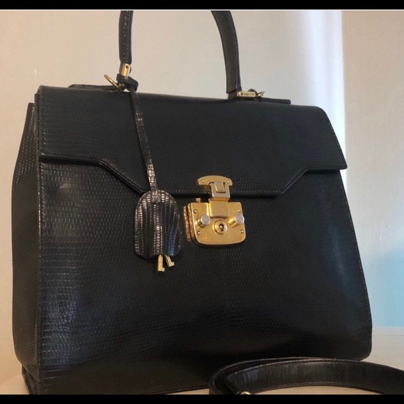 68ec78c1f Gucci Bags | Authentic Kelly Birkin Genuine Lizard Bag | Poshmark